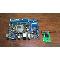 Placa Mãe Asus P8h61-m Lx3 R2.0 (socket 1155) - Semi Nova