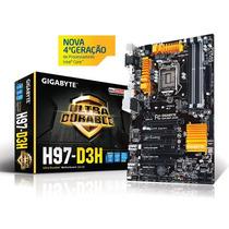 Placa Mãe Gigabyte Ga-h97-d3h Lga 1150 Chipset H97