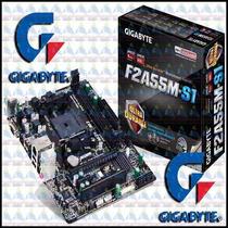 Placa Mae P/ Amd Gigabyte Ga-f2a55m-s1 Fm2 S/v/r Micro Atx