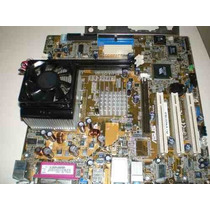 Placa Mãe Asus A7v400-mx+proc. Semprom+cooler+memoria+cabos