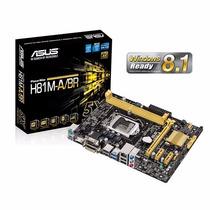 Placa Mãe Asus H81m-a Hdmi/dvi Ddr3 Usb 3.0 Intel 1150