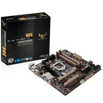 Asus Vanguard B85 Placa Mãe Para Intel Lga 1150 Micro Atx
