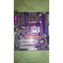 Placa Mae Ecs P4m800pro M2 Rev. 2.0 Socket 775 Pifada