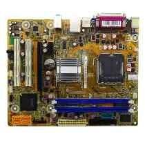 Placa Mãe P/ Desktop 775 Ddr2 Positivo Pig41ba - Seminova