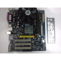 Kit Placa Mãe Foxconn Dg-661fx + Pentium 4 3.0ghz Ht + 1gb