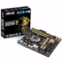 Kit Placa Mãe Asus B85m-e + Intel Core I5 4590 Lga 1150