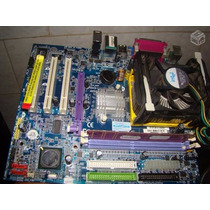 Kit Gigabyte 478 Ga-8vm800m Chipset Via + Proc + 1 Gb