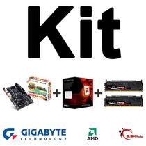 Kit Gigabyte Ga-990fxa-ud3 + Amd Fx-8350 + Memórias 8gb
