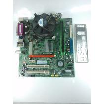 Kit Placa Mãe Ecs 671t-m Ver:1.0 + Dualcore E2140 + 1gb Ddr2