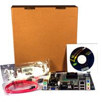 Placa Mae Ddr3, Ipx847-e1 Intel + Atom Dual Core (nova !!!)