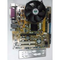 Kit Placa Mãe Asus P5vd2-mx + Dual Core + 1gb Ddr2