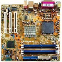 Placa Mãe 775 P5p800-mx V/r/s