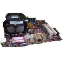 Lote 10 Kits Socket 462 E 478 - Placa/process/cooler/memoria