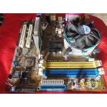Placa Mae Asus P5vdc-mx.intel Pentium 3.20ghz+cooler