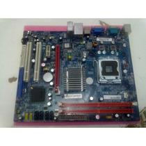 Ecs G31t-m7 Lga775 Onboard Ddr2/chip G31/som/video/rede/pcie