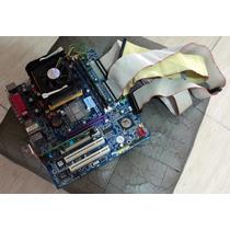Placa Mãe Ga-8vm800m Morta Com Pentium 4 1.7ghz E 500mb Ram