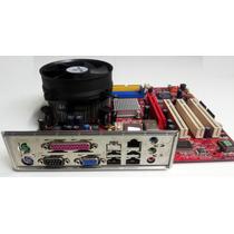 Kit Placa Mãe Msi Pm8pm-v Com Processador Celeron 2.66 Ghz.