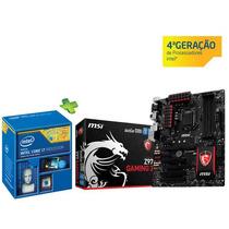 Kit Gamer Intel I7 4790k + Msi Z97 Gaming 3 Ddr3 3300mhz