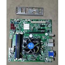 Kit Placa Mãe + Intel Core I3 + Memoria Ddr3 4 Gb + Cooler