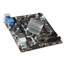 Placa Mãe Msi J1800i Processador Dual Core+memoria De 2 Gb