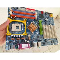 Placa Mãe Gigabyte Ga-8ipe1000 Skt 478 Usada Testada