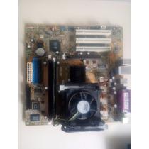 Placa Mae Asus P4 S800-mx Se + Processador + Cooler + 512 Mb
