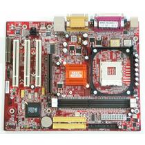 Placa Mãe Sk 478 + Pentium 4 / Celeron + Cooler + 512mb