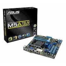 Placa Mãe Asus M5a78l-m/usb3 Am3/am3+ Ate 32gb Memoria 140w