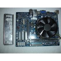 Kit 1155 Placa Mãe H61h2-m2+pentium G620+cooler+2gb Memoria