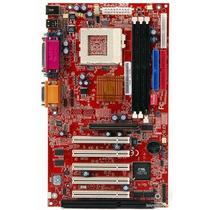 Placa Mãe Atx Nova C/ Isa P/ Pentium 3 E Celeron Soquete 370