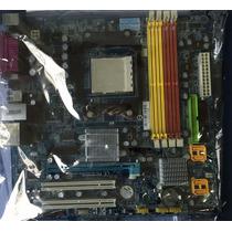 Combo Placa Mãe Gigabyte Ga-ma69vm-s2 + Athlon 64 X2 + 1gb