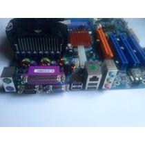 Kit Placa Mãe Phitronics Phitronics P4v800m (socket 478)