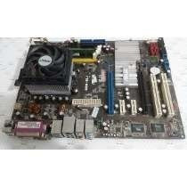Placa Mae Asus M2n-e-sli+processador Sempron Socket-am2