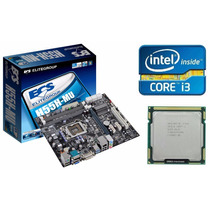 Placa Mãe Ecs H55h-m (lga 1156) + Processador Core I3-540
