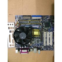 Placa Mãe Digitron + Processador Pentium D925 + 1gb Memória