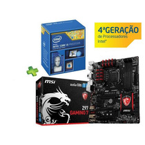 Kit Gamer Intel I5 4690k + Msi Z97 Gaming 7 Ddr3 3300mhz
