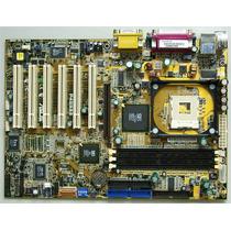 Placa Mãe Asus P4s533 Pga 478 - Pentium 4 Celeron - Garantia