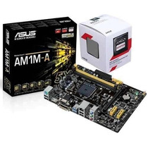Kit Asus Am1m-a + Amd Sempron 2650 X2 Socket Am1 Sata 3 Usb3