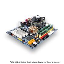 Kit Lga 775 Completinho: Placa + Dual Core + Cooler + 2gb...