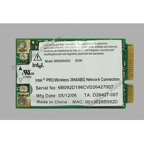 Placa Mini-pci Intel Pro/wireless 3945abg P/notebook.