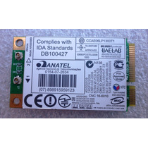Placa De Rede Wireless Atheros Ar5bxb63 2.4ghz Acer 4520
