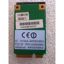 Placa De Rede Wireless Notebook Mini Pci Atheros Ar5bxb63