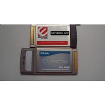 Cartão Pcmcia Wireless Marcas D-link E Encore