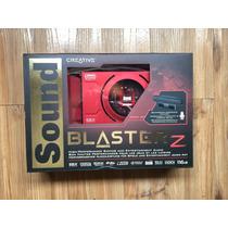 Placa De Som Creative Sound Blaster Z Pcie Com Microfone