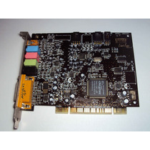 Placa De Som Pci Creative Sound Blaster Live 5.1 Digital
