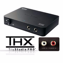 Placa De Som Usb 2.0 Creative Sound Blaster X-fi Hd Sb1240
