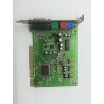Placa De Som Pci Creative Sound Blaster Ct4810 - Clássica