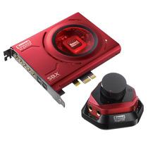 Creative Sound Blaster Zx Pcie C/módulo De Áudio Box