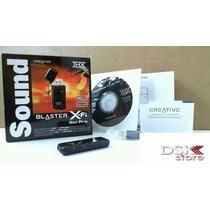 Placa De Som Usb X-fi Go Creative Sb1290 Alta Qualidade