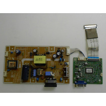 Placa Fonte E Sinal Monitor Samsung Lcd Model:ip-19145a